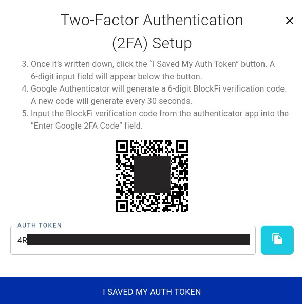 Google AuthenticatorでQRコードを読み込む